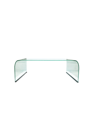 20th Century Italian Glass Coffee Table in the Style of Angelo Cortesi