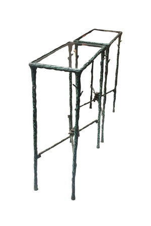 20th Century Wrought Iron Side Tables Inspired by Giacometti - ON SALE