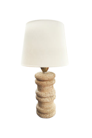 Midcentury Coral Table Lamp