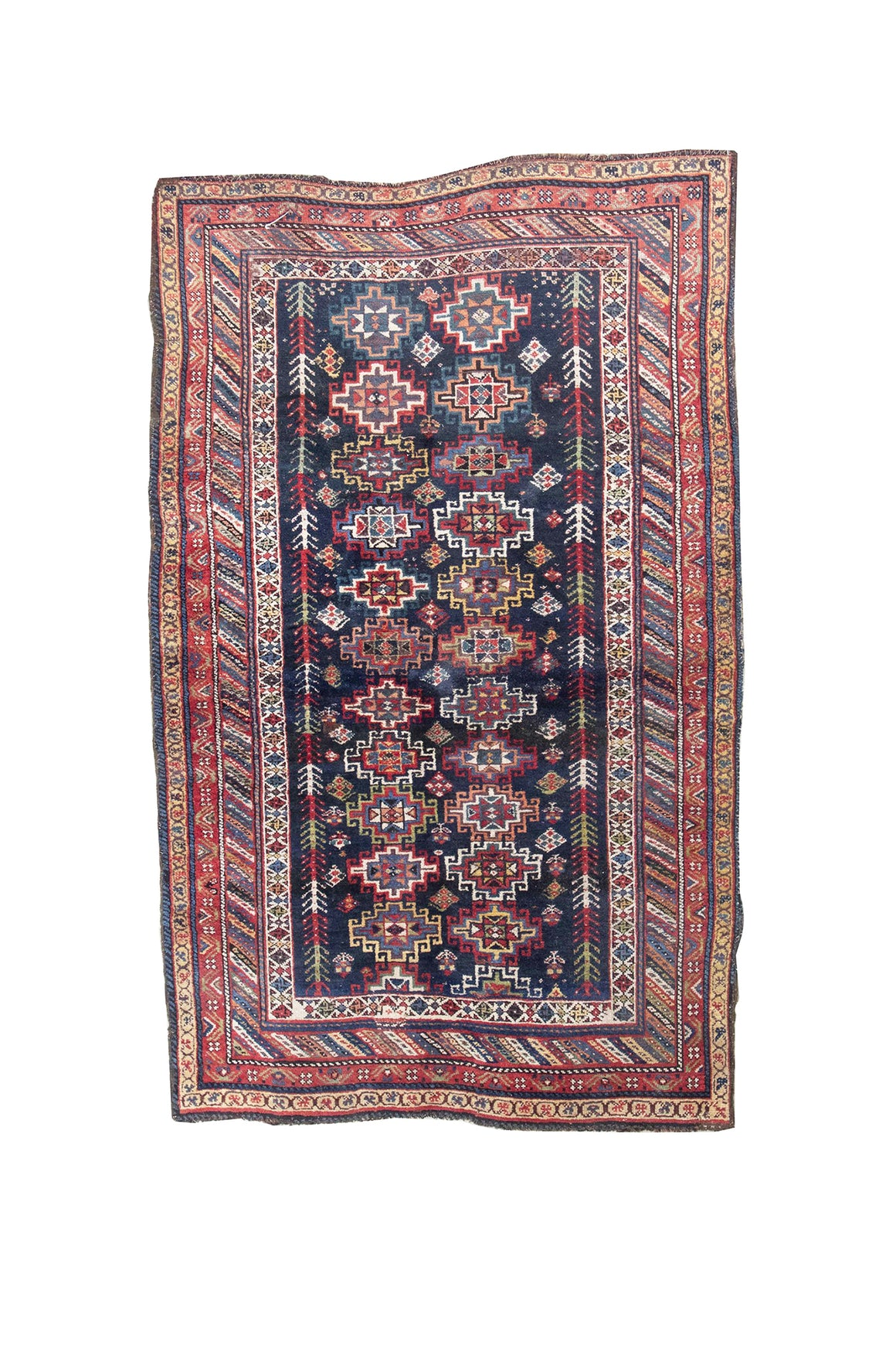 "20th Century Kurdish Area Rug - 90"" x 55"""