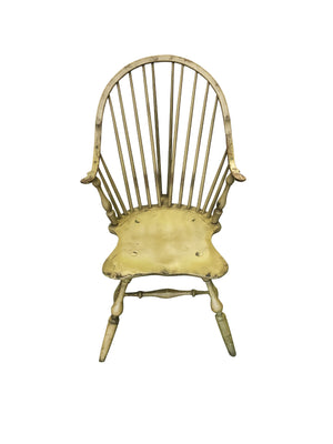 Vintage New York Style Windsor Chair by Bill Wallick