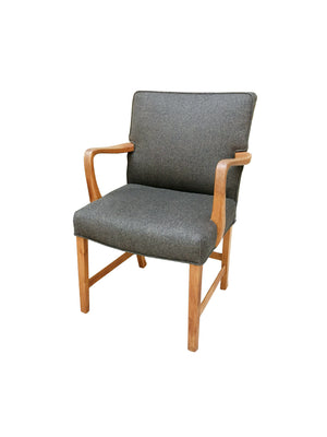 1940s Danish Oak Armchair by Aksel Bender Madsen - 3 Available