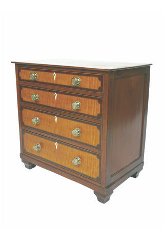 Antique American Maple Bureau, Circa 1810