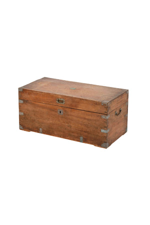Late 19th Century Chinese Camphorwood Chest