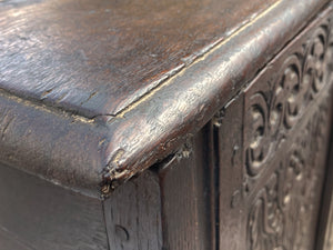 Late 17th Century English Oak Blanket Chest