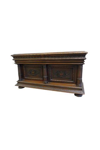 Late 19th Century Cabinet Chest by Goumain Frères