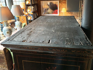 Antique Georgian Varnished Chest of Drawers - ON HOLD
