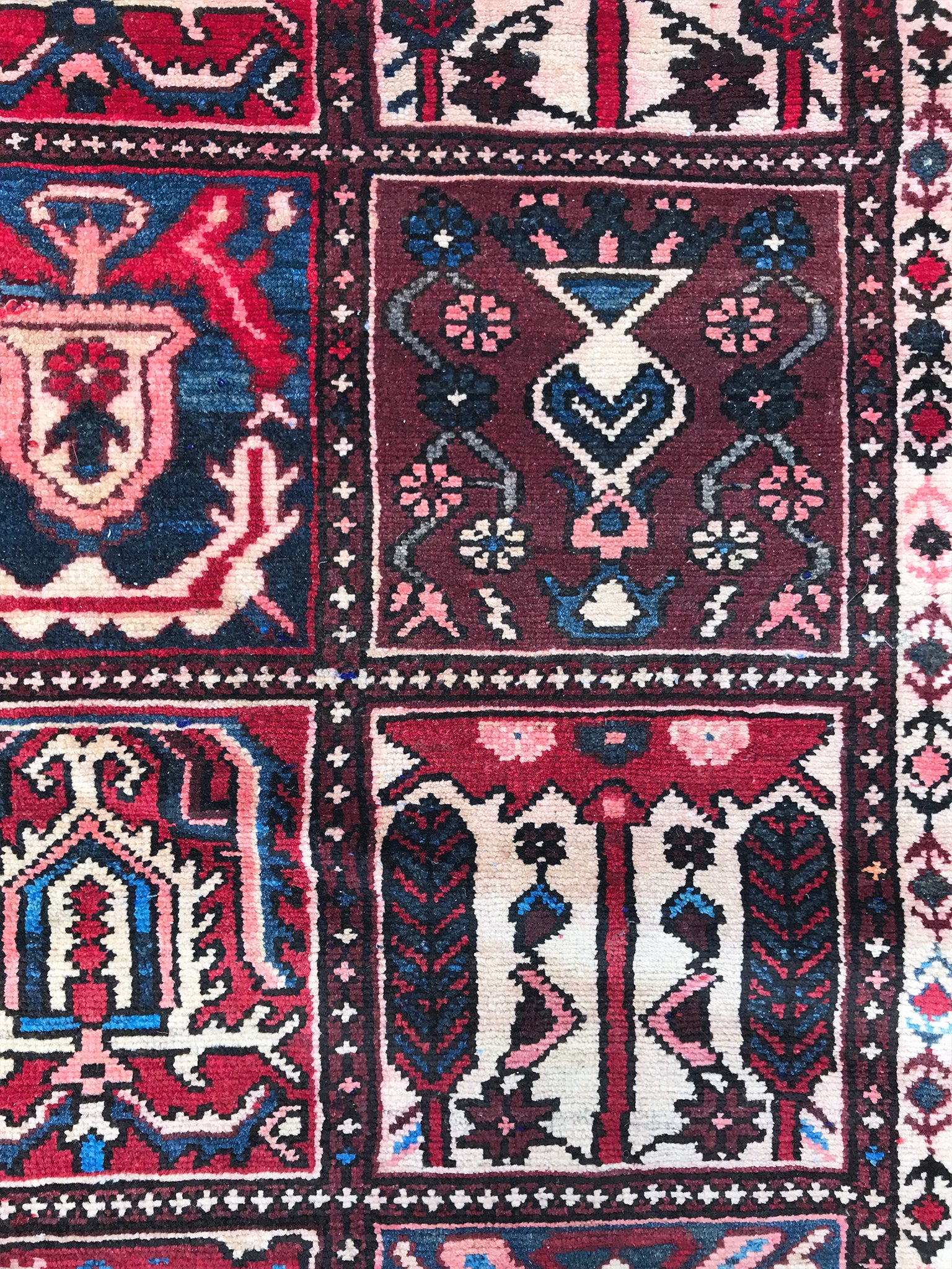 Early 20th Century Antique Persian Rug 3 11 X 6 9