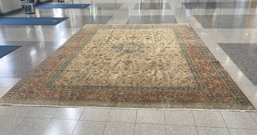Early 20th Century Large Persian Area Rug