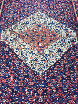 "Antique Persian Rug - 77"" X 51"""