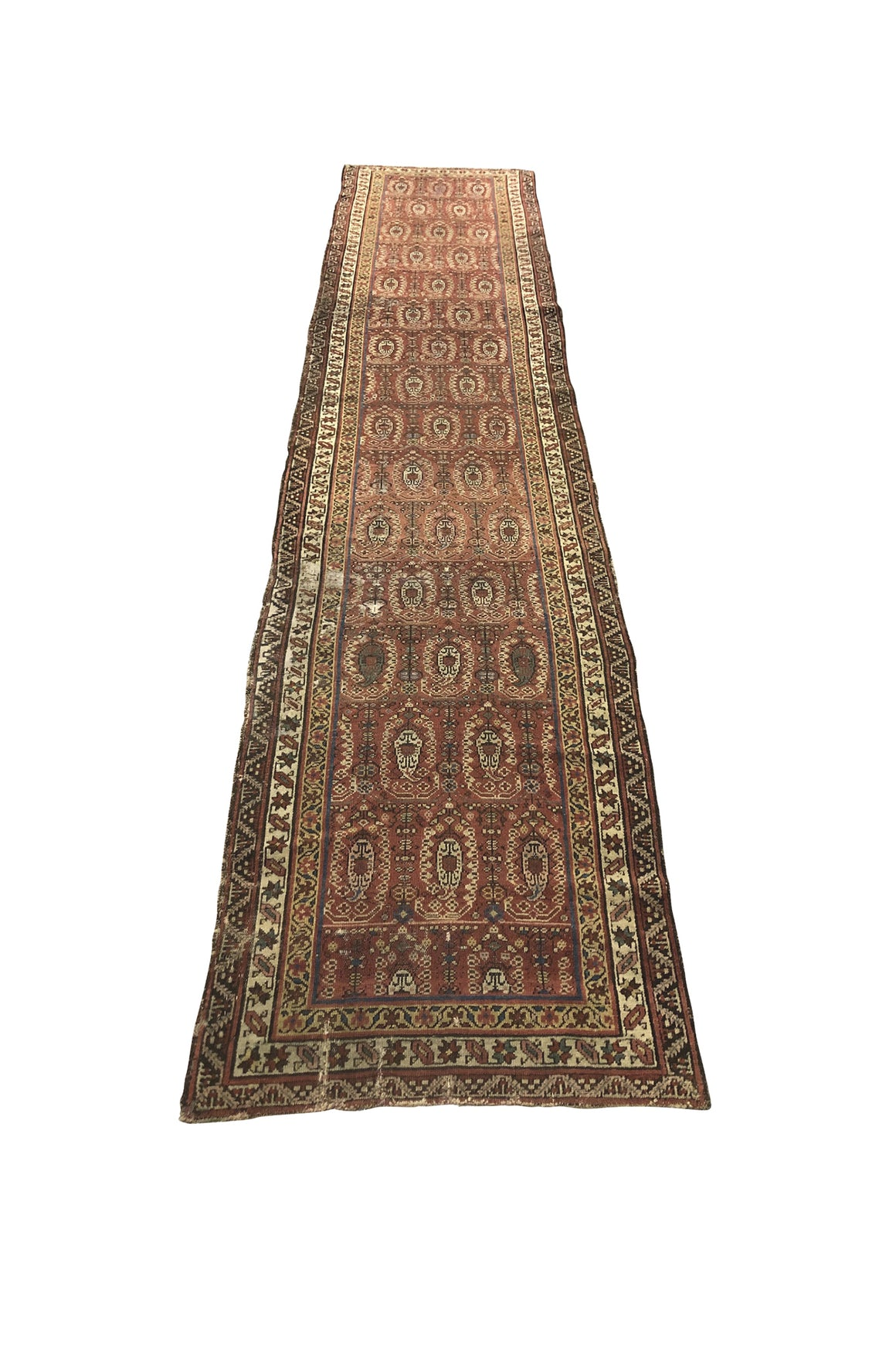 "Antique Serab Runner Rug - 154"" x 33"""