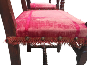 Antique Baroque-Style Armchairs - a Set of 2