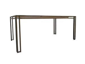 Billy Baldwin 1970s Iron & Wood Dining Table