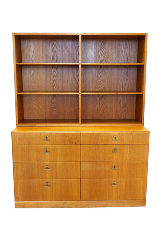 Midcentury Børge Mogensen Bookcase & Chest of Drawers