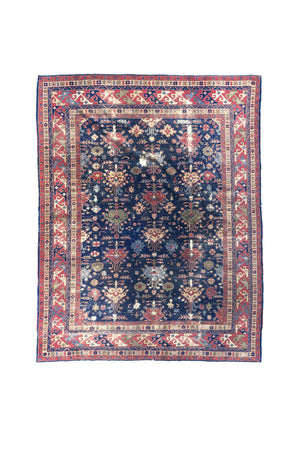 "20th Century Turkish Area Rug - 109"" X 141"""