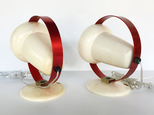 "Charlotte Perriand ""Infraphil"" Heat Table Lamps or Sconces by Philips"