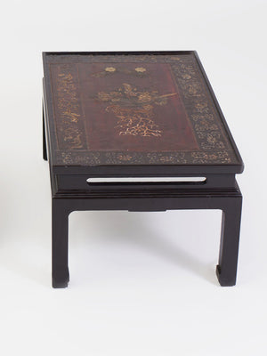 Early 20th Century Chinese Lacquered Panel Table