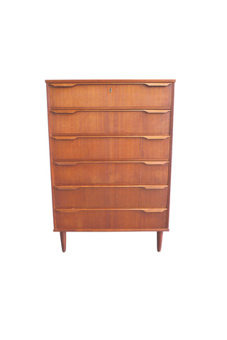 Mid-Century Modern Danish Teak Chest of Drawers