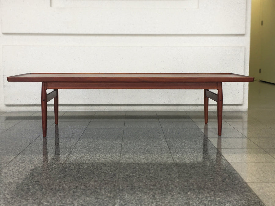 Midcentury Danish Modern Teak Coffee Table
