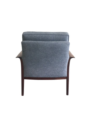 Mid-20th Century Danish Modern Rosewood Armchair by Han Olsen