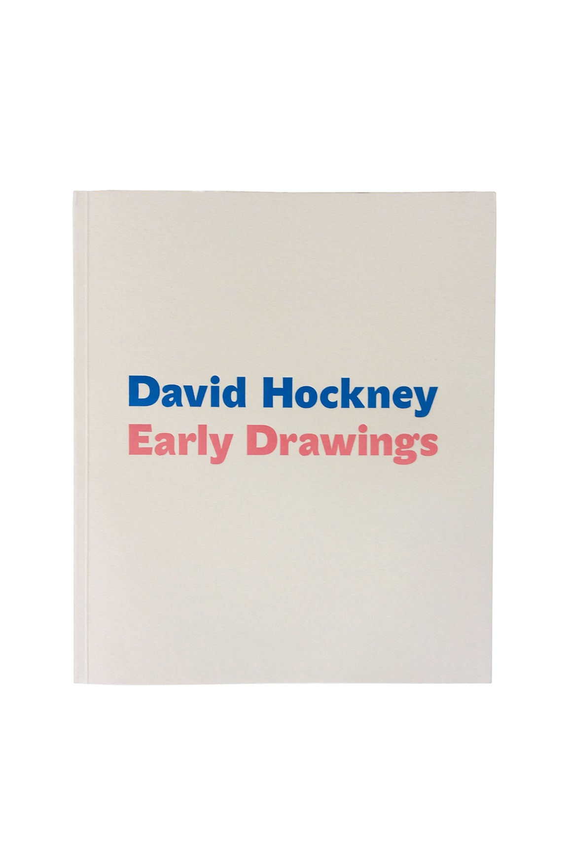 David Hockney Early Drawings Exhibitions Catalogue