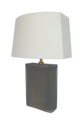 Donghia Frosted Glass Table Lamps, a Matching Set