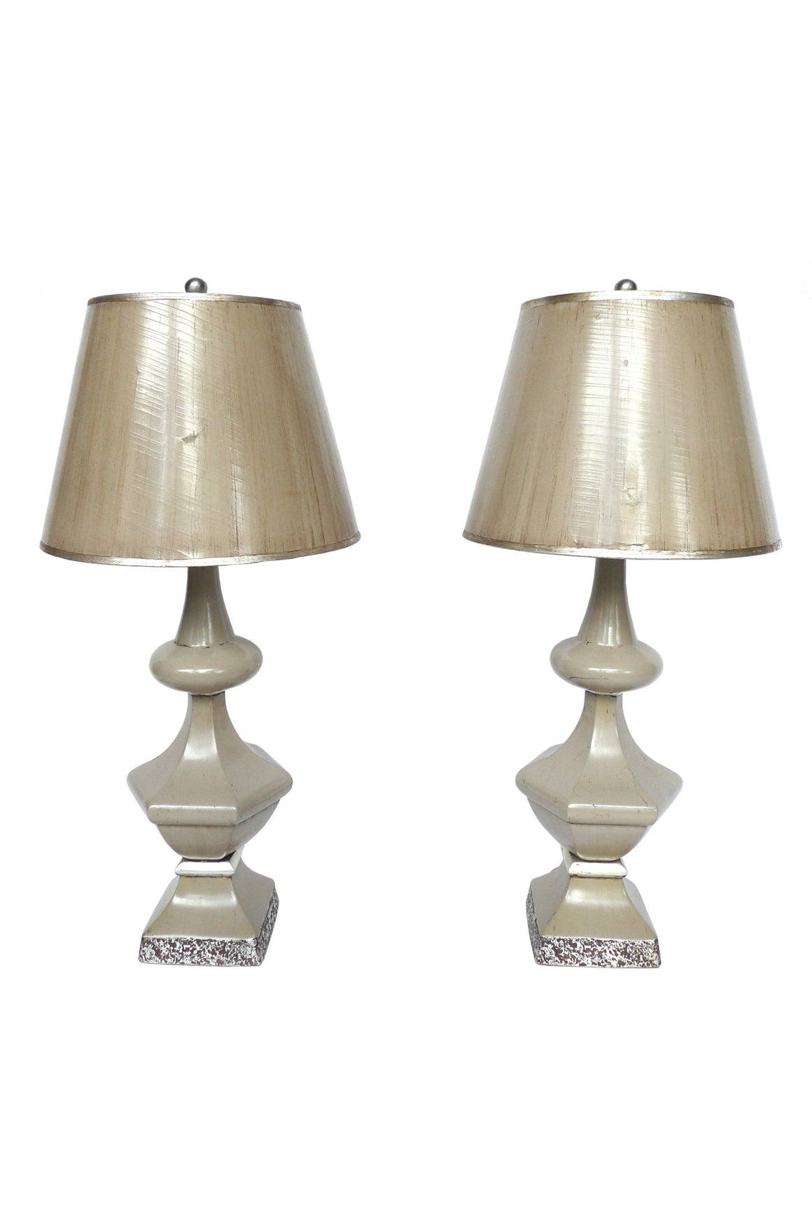 Pair of 1950s Dorothy Draper Table Lamps - ON SALE