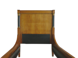 Early 19th Century French Biedermeier Walnut Bed