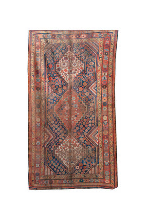 "Early 20th Century Afshar Runner Rug - 60"" x 110"""