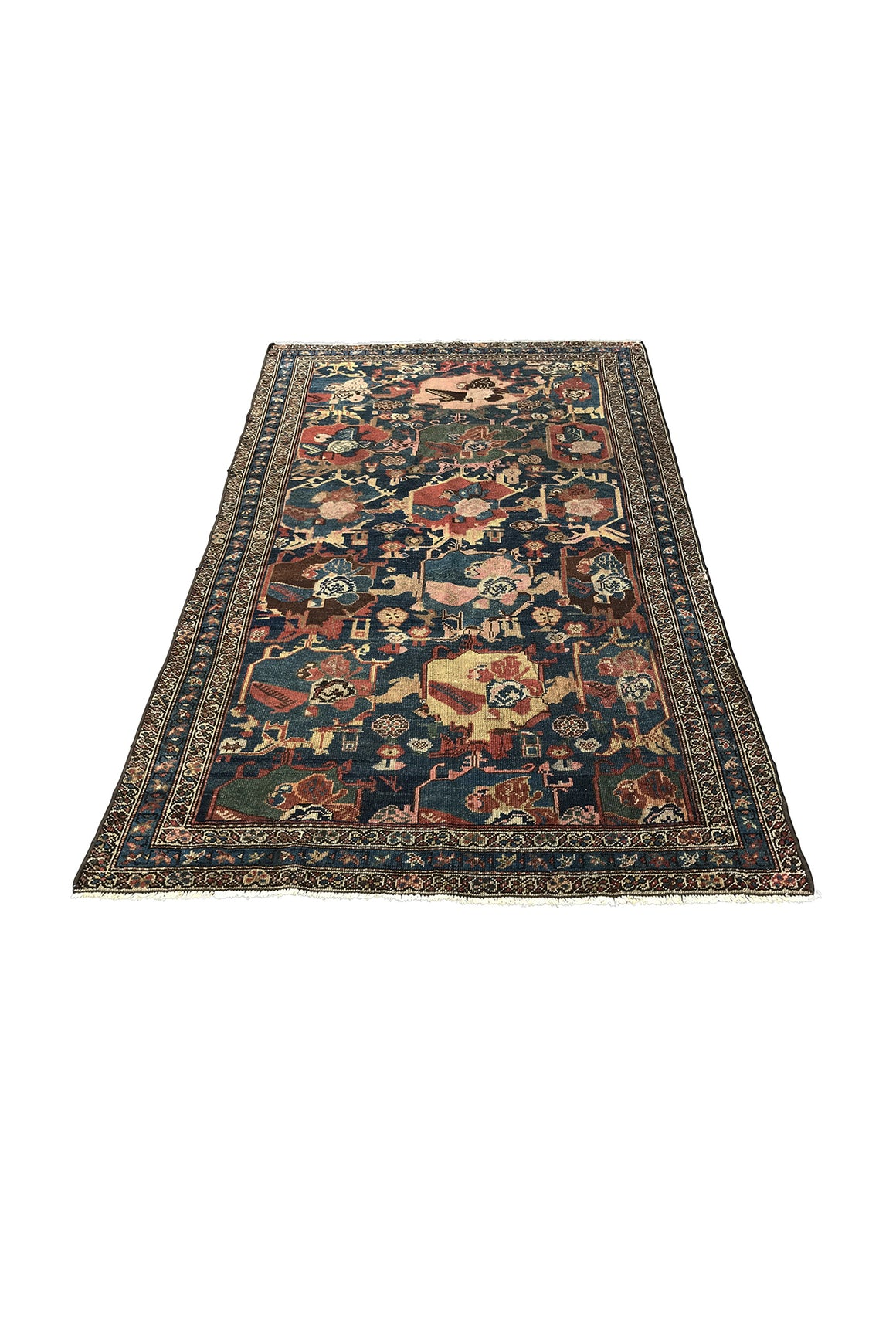 "Early 20th Century Caucasian Rug - 50.5"" X 92"""