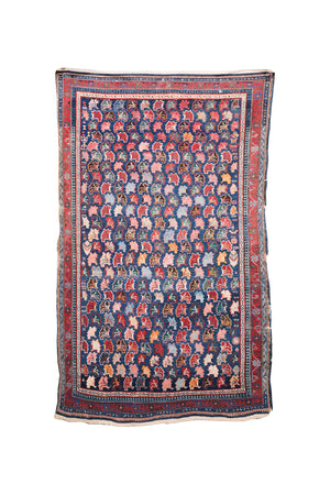 "Early 20th Century Caucasian Rug - 45"" X 76"""