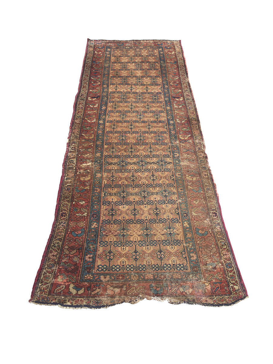 Early 20th Century Hamadan Runner Rug
