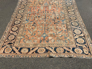 "Early 20th Century Heriz Rug - 6' 4"" x 8' 2"""