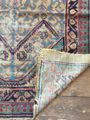 "Early 20th Century Serab Runner Rug - 4' 5"" X 9' 11"""