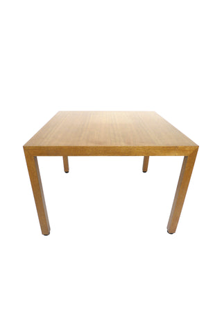 Midcentury Parsons Games Table by Edward Wormley