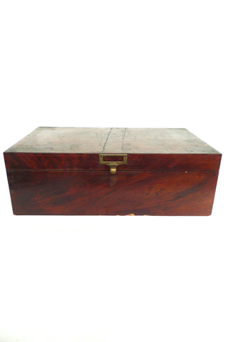 Hand-Crafted Vintage Wooden Box