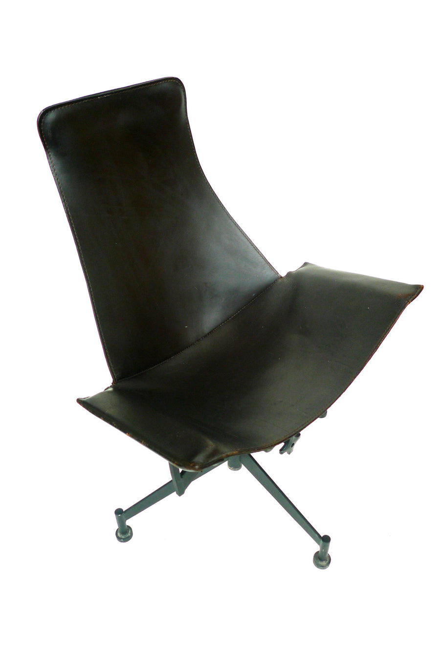Fabricius & Kastholm Style Leather Chair
