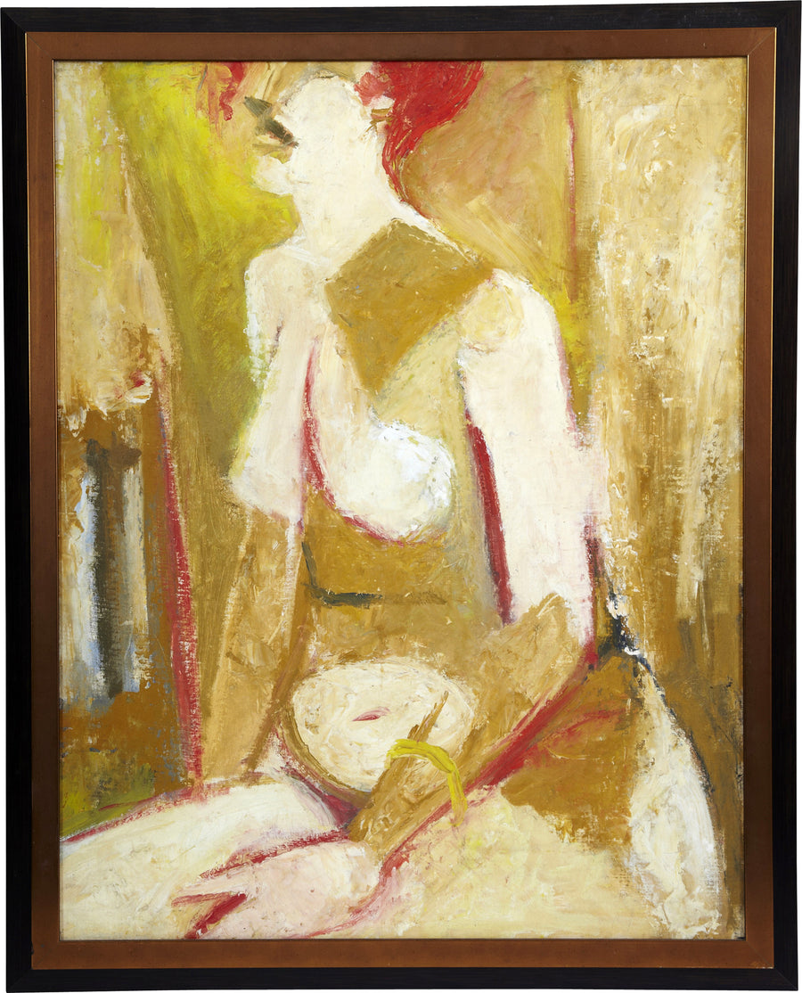 Oil Painting of Nude by Jack Fenstermacher