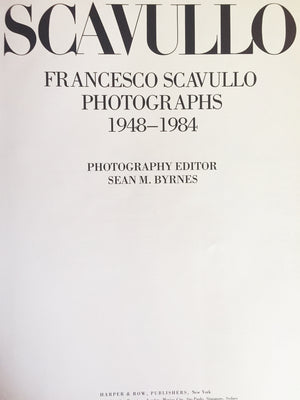 Francesco Scavullo Photography Book
