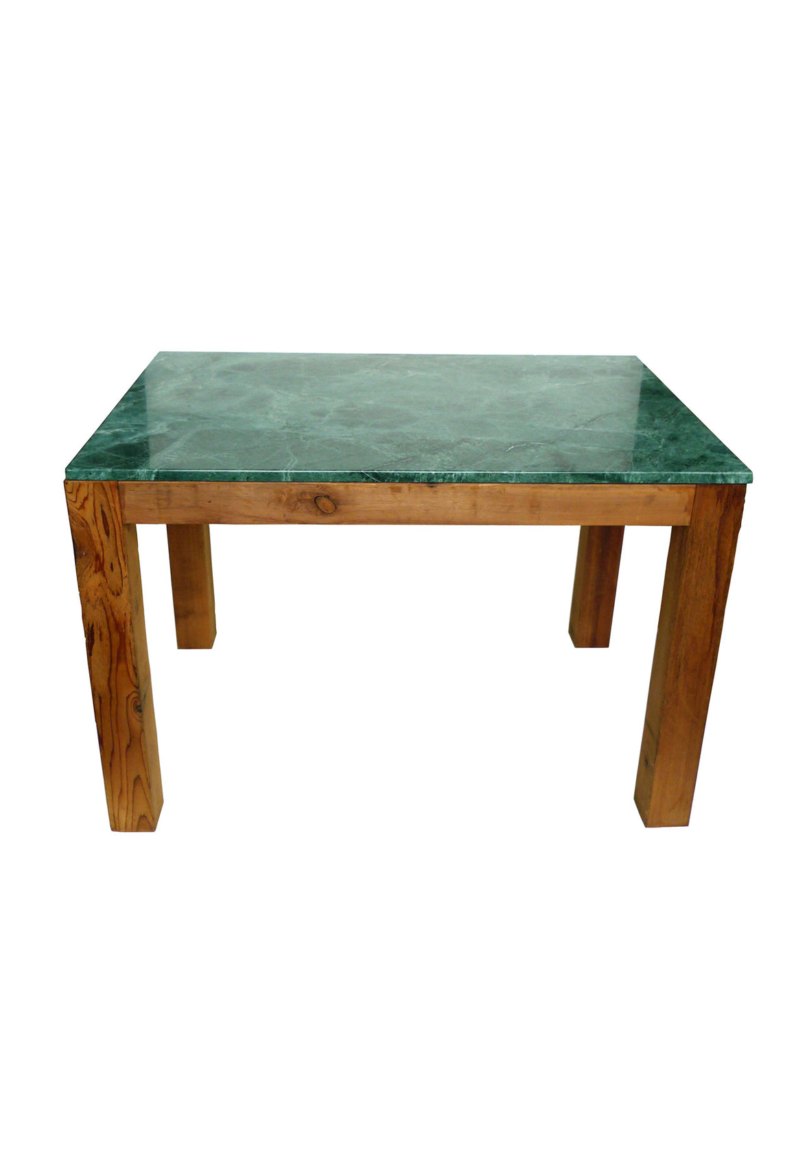 Green Marble Parsons Table