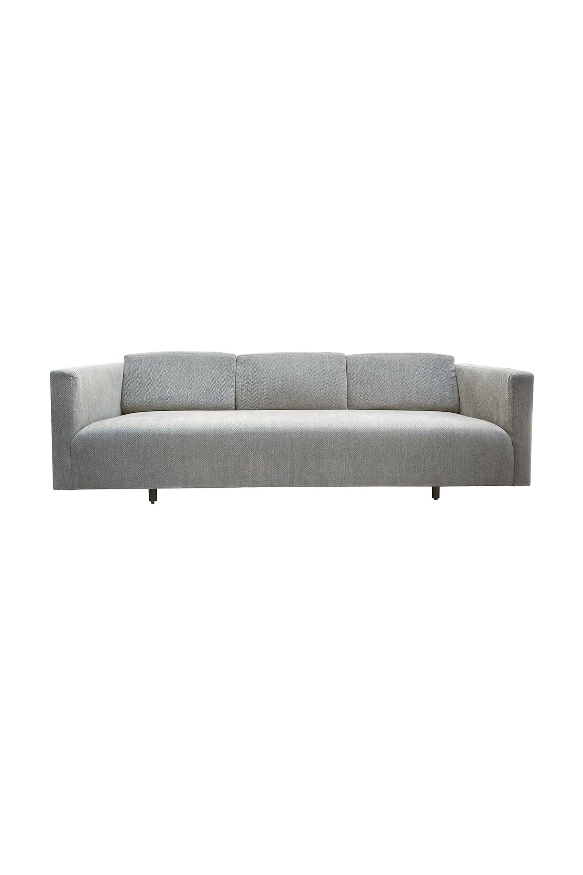 Mid-20th Century Tuxedo Sofa by Harvey Probber