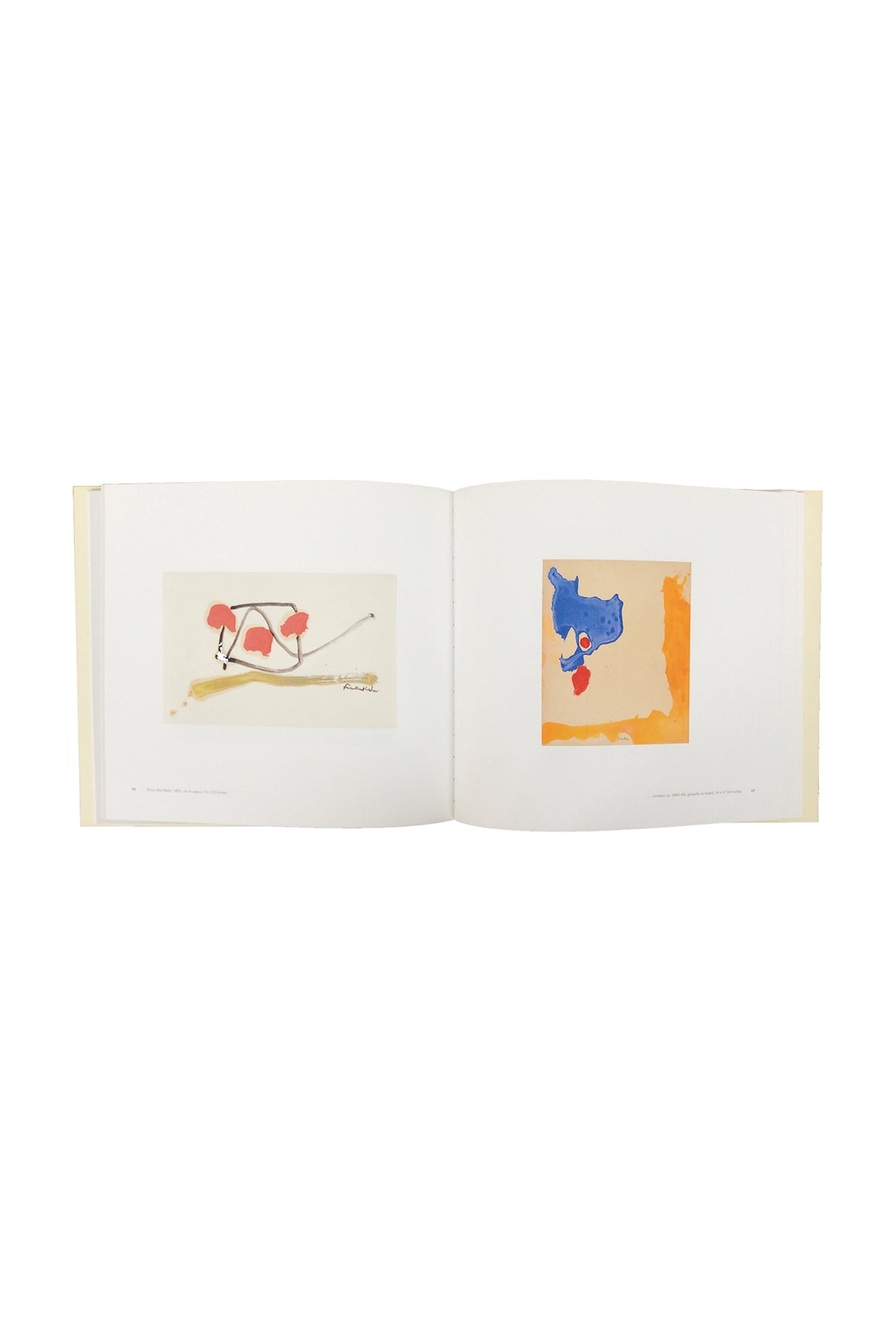 "Art Exhibit Catalogue, ""Helen Frankenthaler at Eighty: Six Decades"""