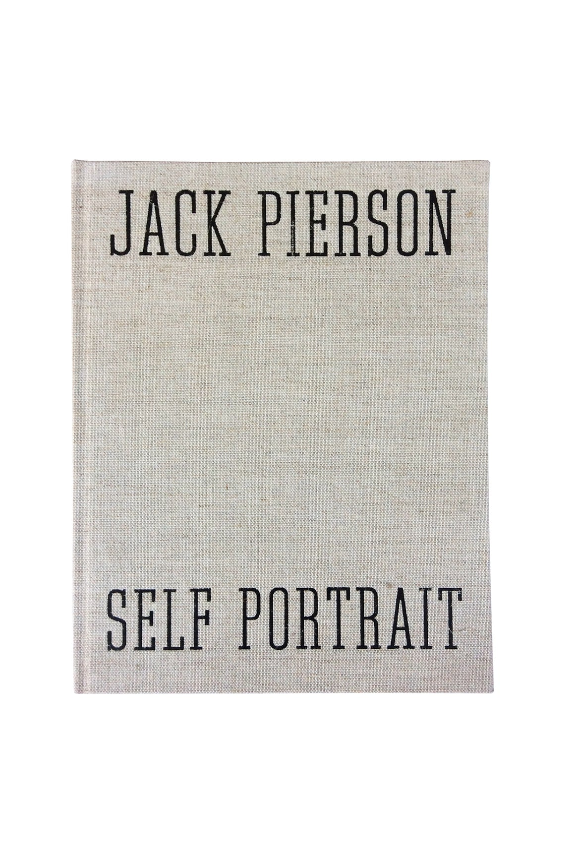 "Jack Pierson Photography Book - ""Self Portrait"""