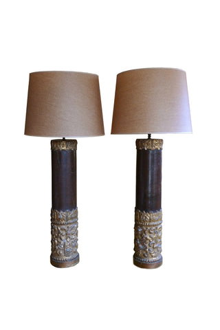 Late 19th Century French Table Lamps
