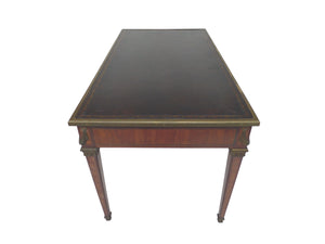 Late 19th Century Louis XVI Style Leather-Top Writing Desk
