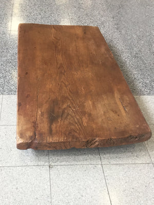 Low Plinth Coffee Table in the Style of Axel Vervoordt