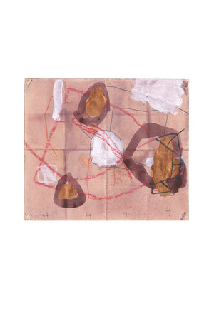 Abstract Work on Paper by M. P. Landis - From Warehouse Drawing Series