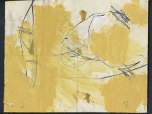 """WD2758 (Mona)"" Abstract Work-on-Paper by M. P. Landis - Warehouse Drawing Series"