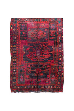 "Mid-20th Century Malayer Rug 5' 2"" X 7' 3"""