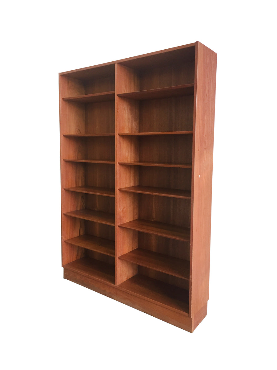 Mid-20th Century Danish Modern Teak Bookcase by Poul Hundevad